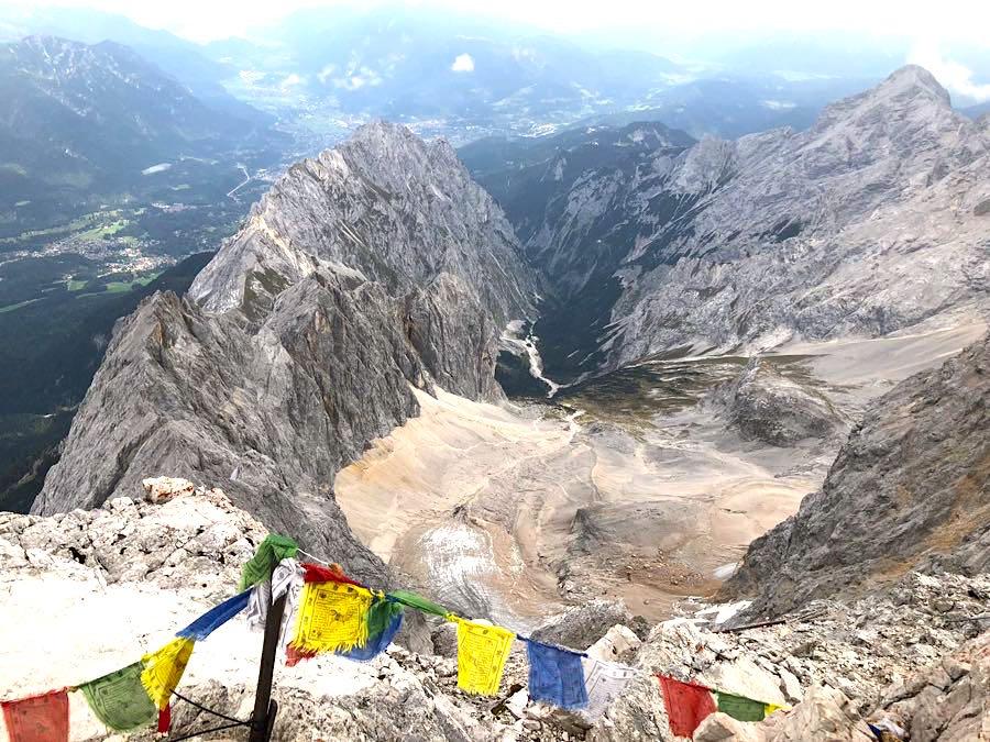 zugspitze wanderung spitzenwanderweg 13 - Auf die Zugspitze wandern - mein Tourenbericht