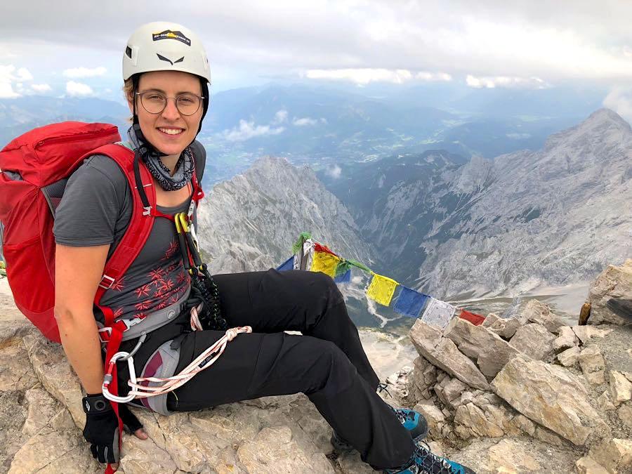 zugspitze wanderung spitzenwanderweg 15 - Auf die Zugspitze wandern - mein Tourenbericht