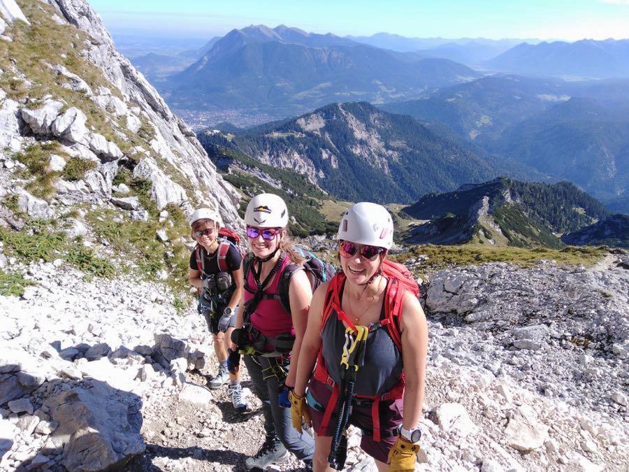 zugspitze wanderung spitzenwanderweg 17 - Auf die Zugspitze wandern - mein Tourenbericht