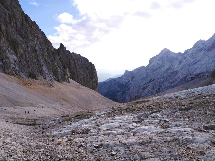 zugspitze wanderung spitzenwanderweg 18 - Auf die Zugspitze wandern - mein Tourenbericht