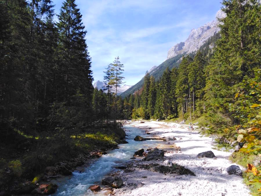 zugspitze wanderung spitzenwanderweg 2 - Auf die Zugspitze wandern - mein Tourenbericht