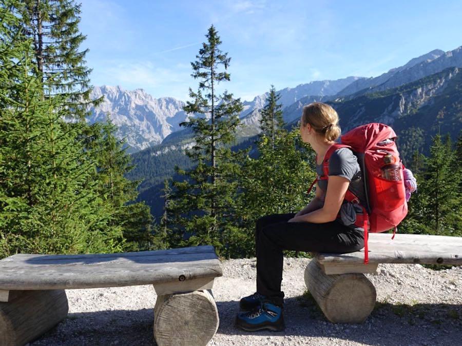 zugspitze wanderung spitzenwanderweg 3 - Auf die Zugspitze wandern - mein Tourenbericht
