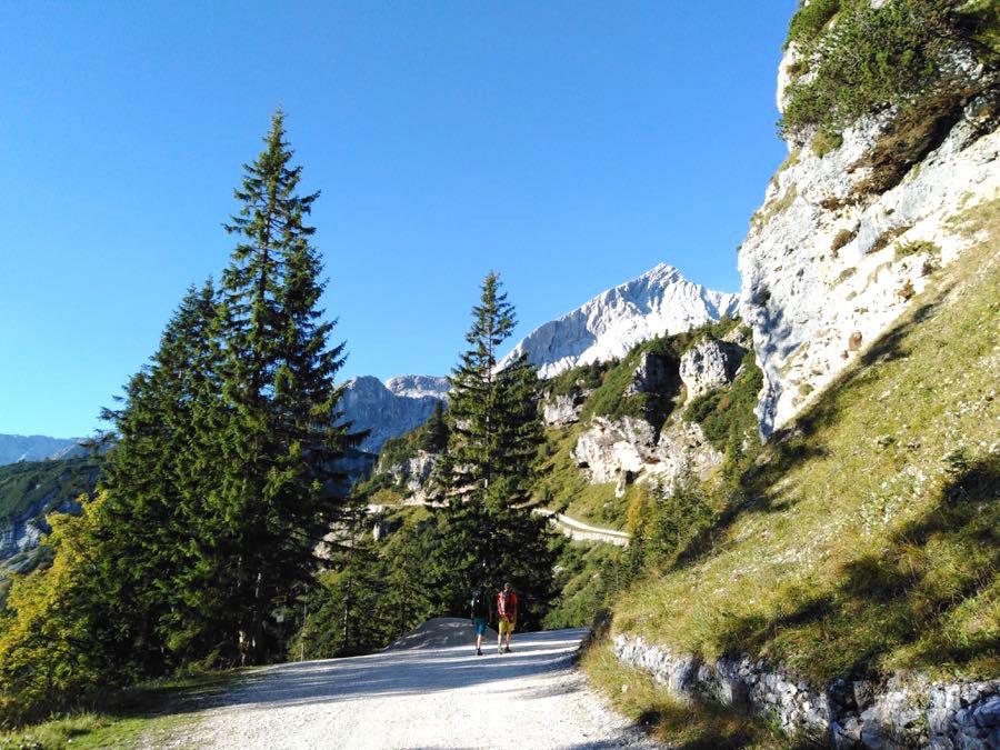 zugspitze wanderung spitzenwanderweg 5 - Auf die Zugspitze wandern - mein Tourenbericht