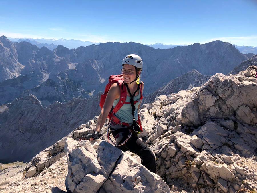 zugspitze wanderung spitzenwanderweg 6 - Auf die Zugspitze wandern - mein Tourenbericht