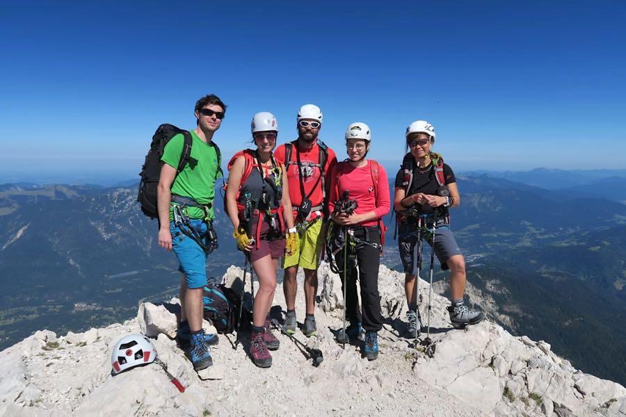 zugspitze wanderung spitzenwanderweg 7 - Auf die Zugspitze wandern - mein Tourenbericht