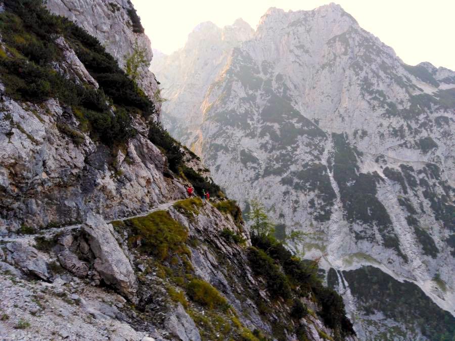 zugspitze wanderung spitzenwanderweg 8 - Auf die Zugspitze wandern - mein Tourenbericht