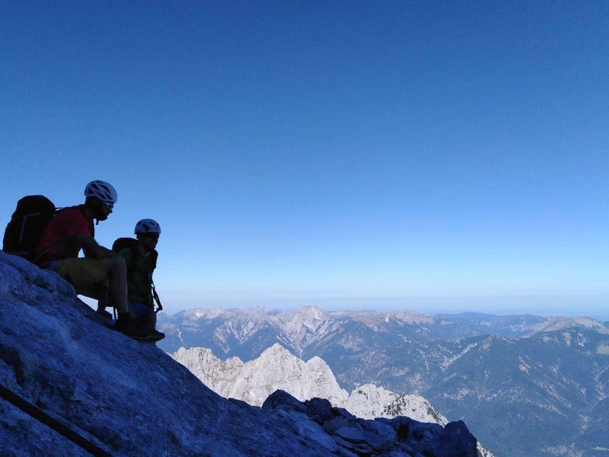 zuspitze wanderung bayern spitzenwanderweg  - Auf die Zugspitze wandern - mein Tourenbericht