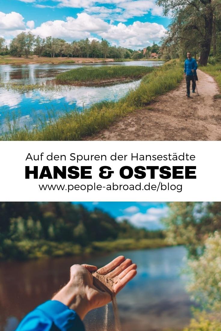 Werbung / Auf den Spuren der Hansestädte #Ostsee #Estland #Lettland #Schweden #Hanse