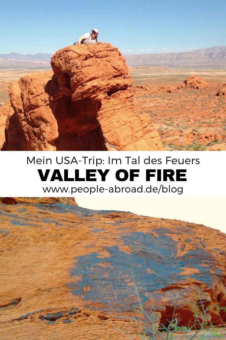 Mein USA-Trip - Im Tal des Feuers #Reise #USA #Roadtrip #Reisetipps #Urlaub
