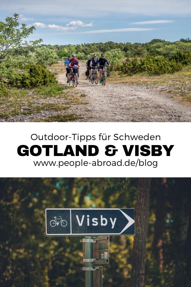 Werbung / Gotland und Visby in Schweden #Gotland #Visby #Schweden #Skandinavien #Outdoor