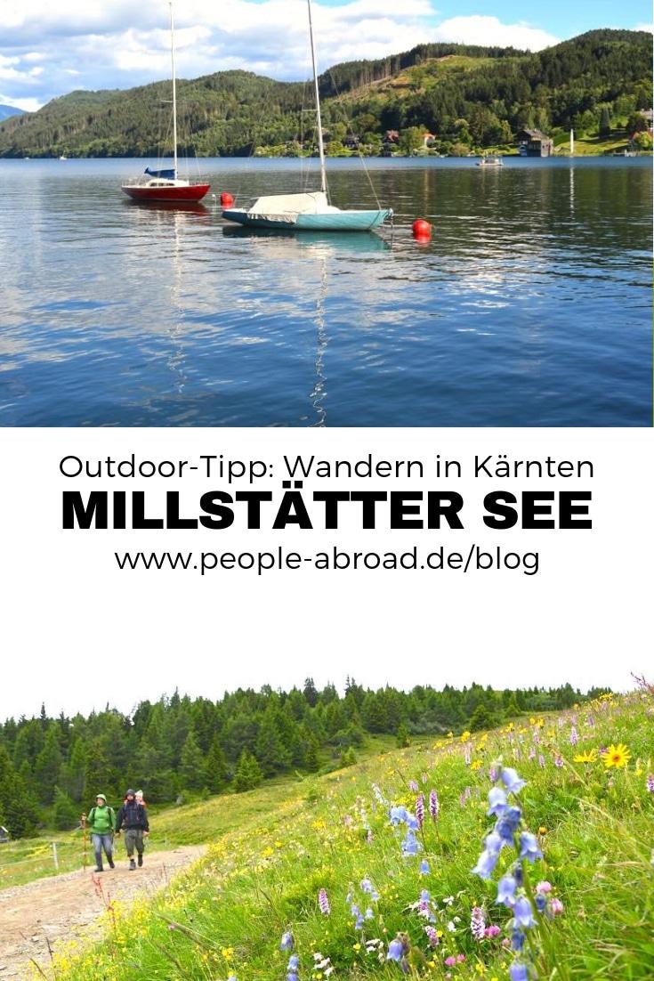 Werbung / Wandern in Kärnten am Millstätter See #Kärnten #Österreich #Wandern #Urlaub #Outdoor