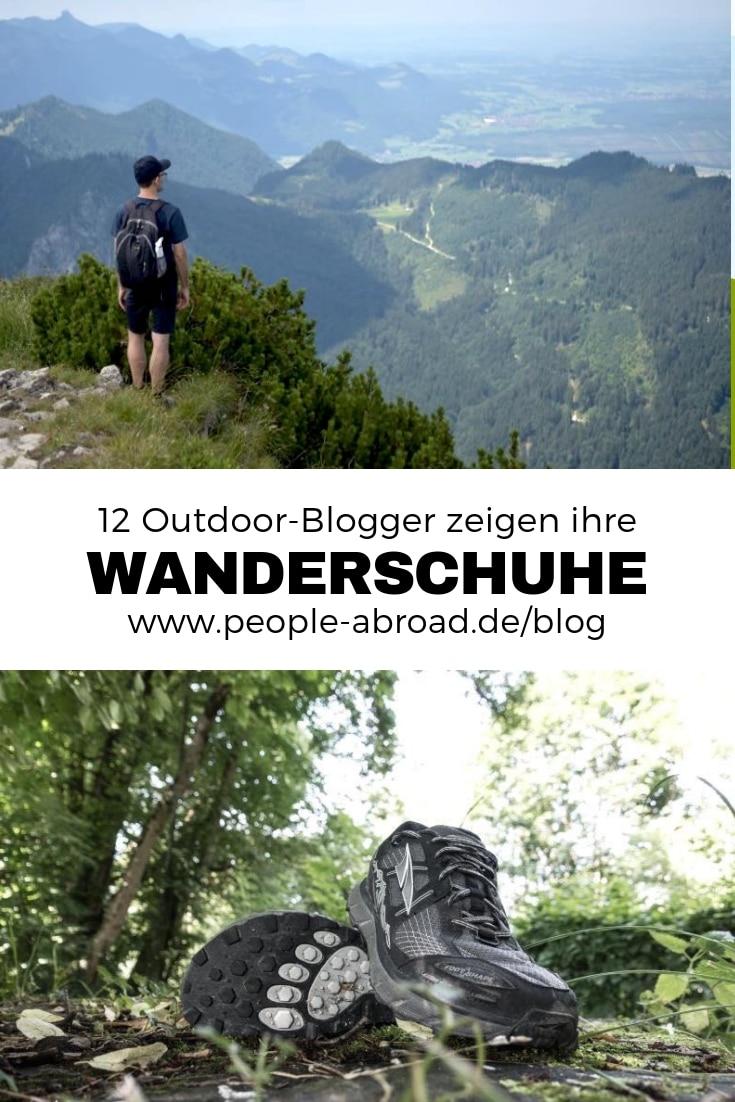 Werbung / 12 Outdoor-Blogger zeigen ihre Wanderschuhe #Wanderschuhe #Wandern #Reisen #Wandertipps #Ausrüstung