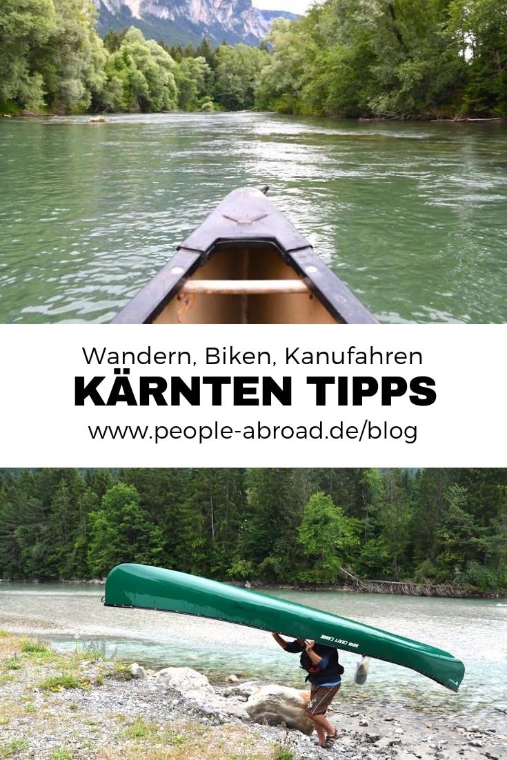 Werbung / Outdoor-Tipps für Kärnten #Wandern #Biken #Kanufahren #Outdoor