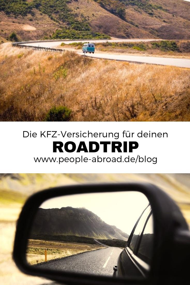 Werbung / Die richtige KFZ-Versicherung für deinen Roadtrip #Mietwagen #Roadtrip #Versicherung