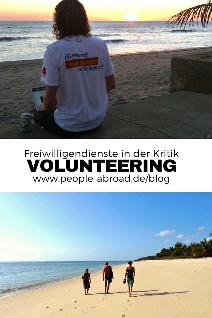 Freiwilligendienste und Volunteering kritisch gesehen #Freiwilligendienst #Praktikum #Ausland #Workandtravel #Volunteers