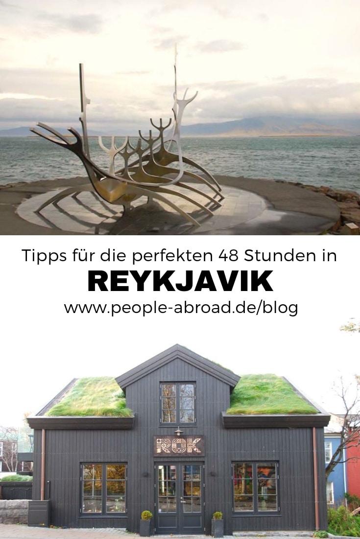 Tipps für die perfekten 48 Stunden in Reykjavik #Island #Reykjavik #Skandinavien #Städtetrip