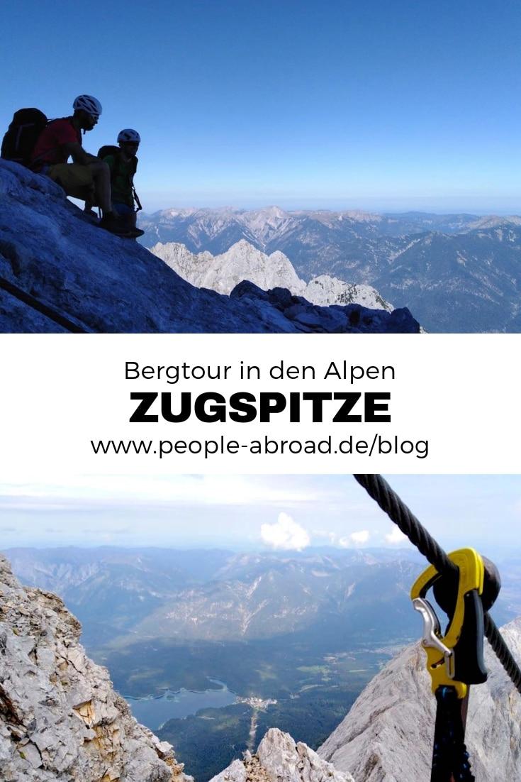 Werbung / Bergtour in den Alpen #Alpen #Zugspitze #Spitzenwanderweg #Bergtour #Trekking