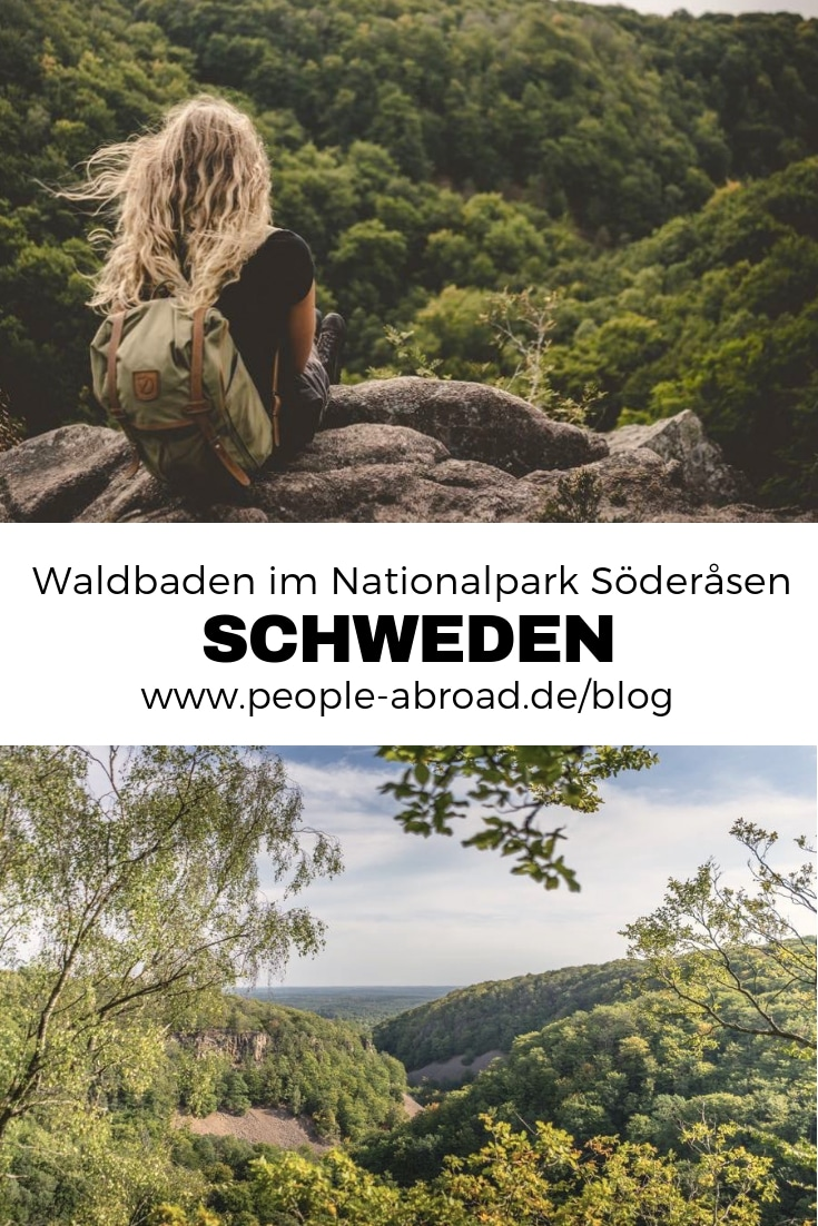 33 - Waldbaden im Nationalpark Söderasen