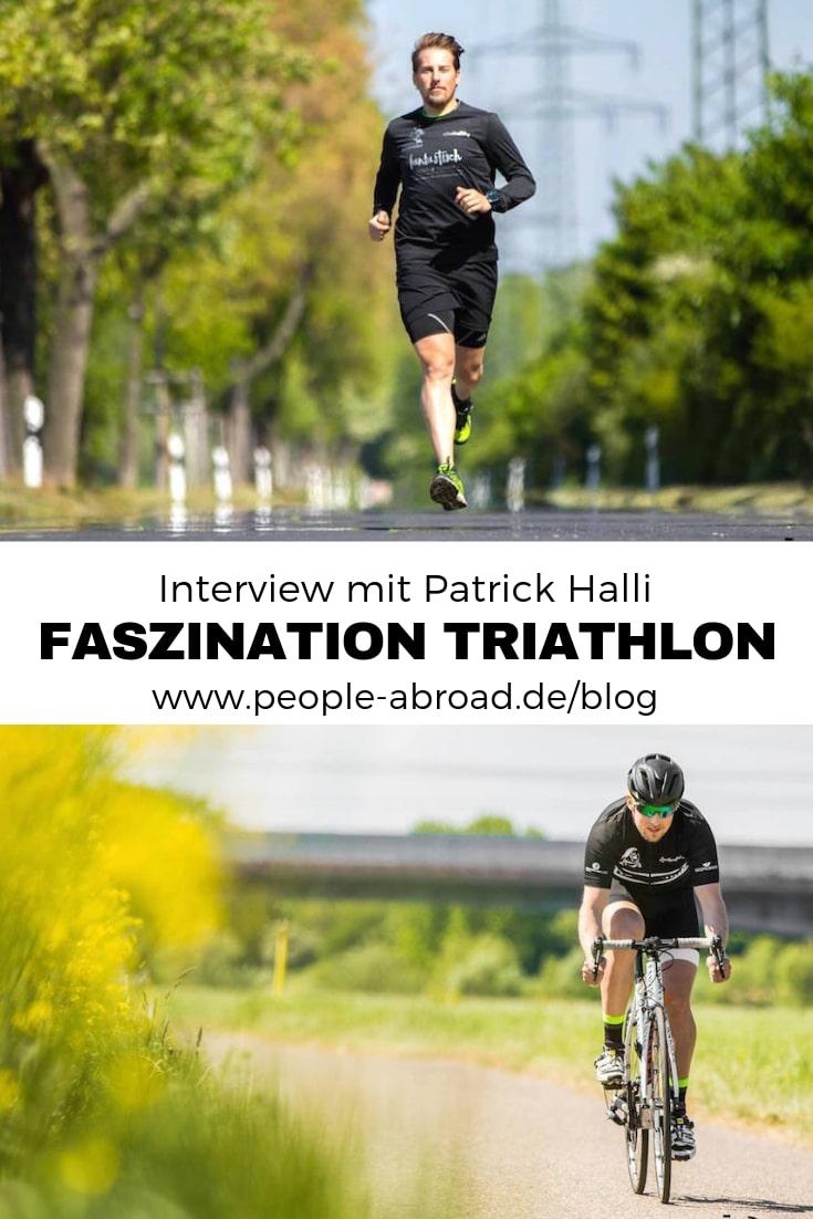 Faszination Triathlon - Interview mit Triathlet Patrick Halli #Triathlon #Sport #Ausdauersport #Outdoor