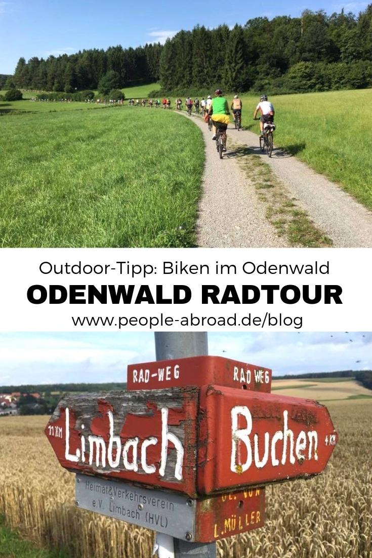 Werbung / Outdoor-Tipp: Radtour im Odenwald #Radtour #Radreise #Odenwald #Biken #Outdoor