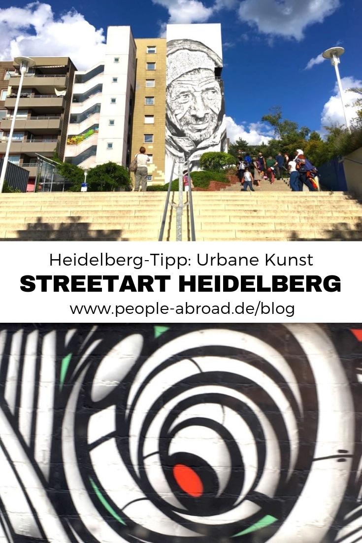 Urbane Kunst: Streetart in Heidelberg #Streetart #Reisen #Heidelberg #Kunst #Deutschland