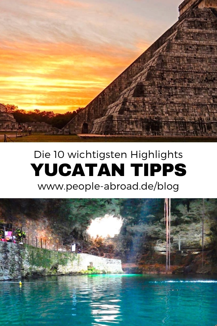 10 Highlights für Yucatan in Mexiko #Yucatan #Mexiko #Reisen #Urlaub
