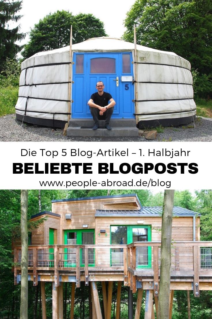 50 - Die Top 5 Blog-Artikel aus dem 1. Halbjahr