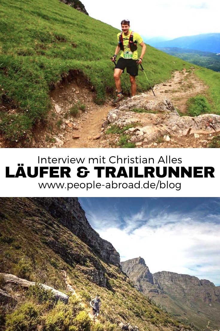 Laufen & Trailrunning - Interview mit Christian Alles #Running #Laufen #Sport #Trailrunning #Outdoor