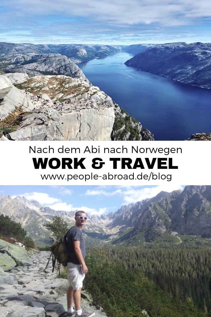 Work & Travel in Norwegen #Workandtravel #Worktravel #Norwegen #Ausland