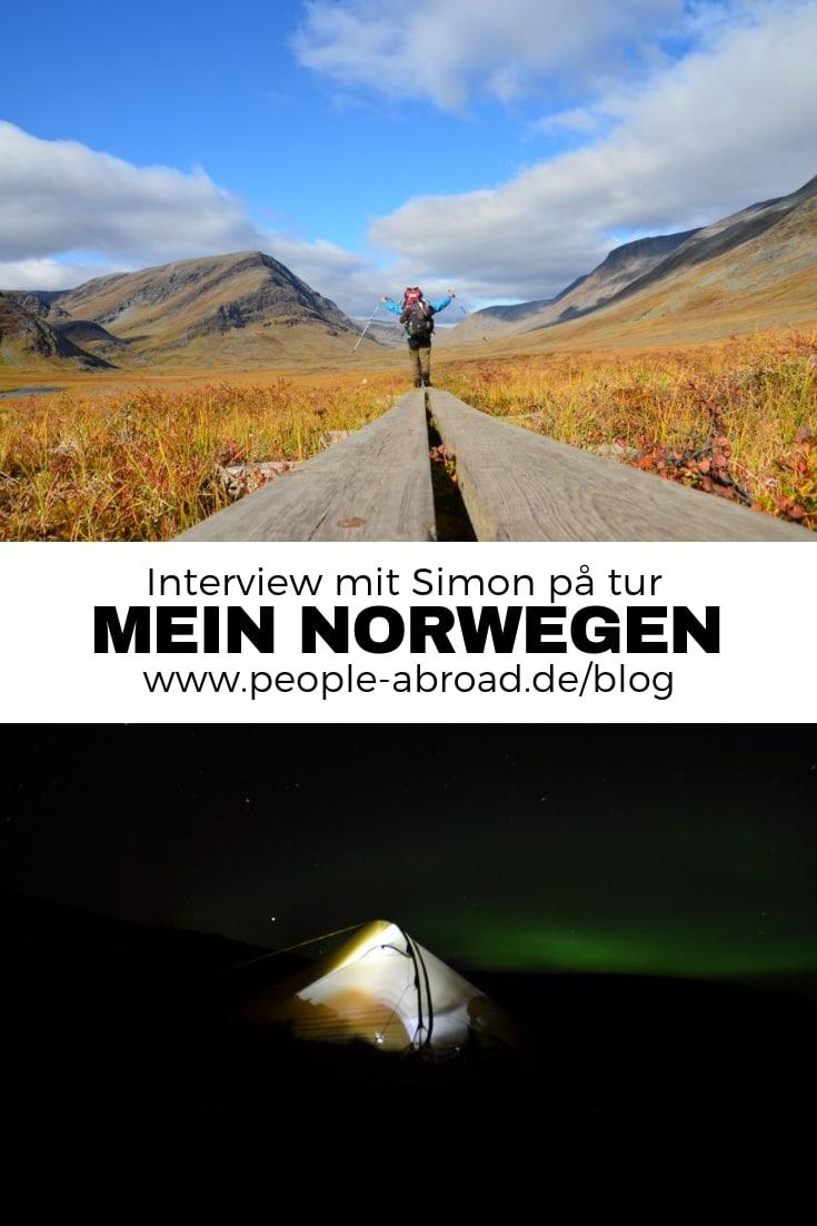 Mein Norwegen - Interview mit Simon Michalowicz #Norwegen #Wandern #Skandinavien #Fernwandern