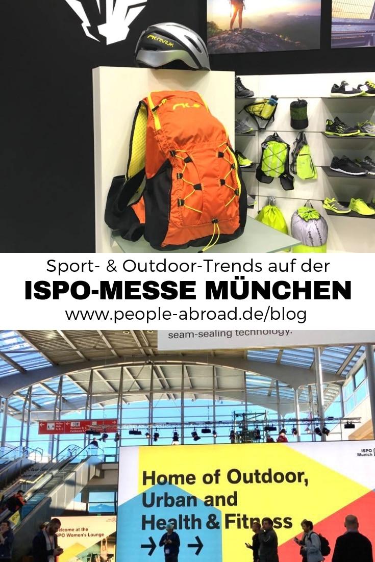 Die ISPO Sport-Messe in München #Sport #Fitness #Gesundheit #Outdoor #Blogger
