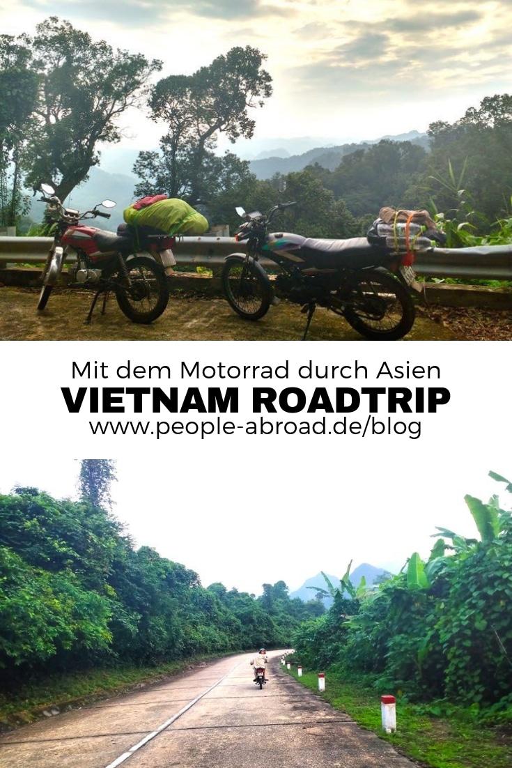Roadtrip mit dem Motorrad durch Vietnam #Reise #Vietnam #Asien #Roadtrip #Motorrad