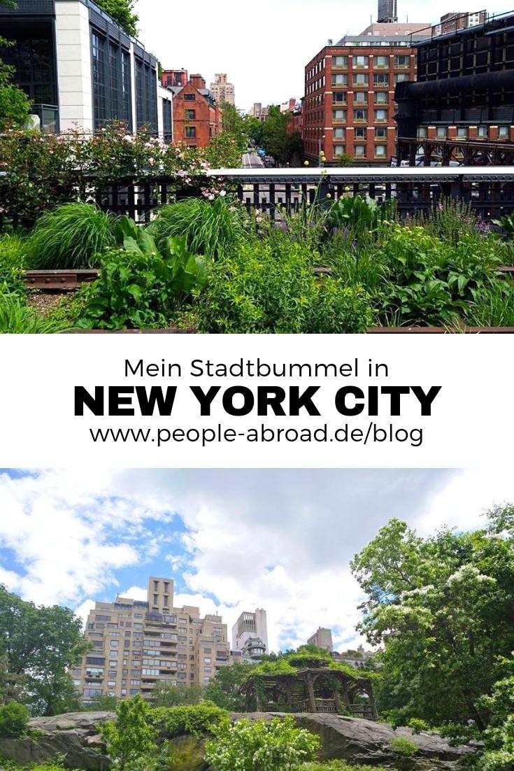 Mein Stadtbummel in New York City #Reise #Städtereise Reisetipps #USA #Newyork