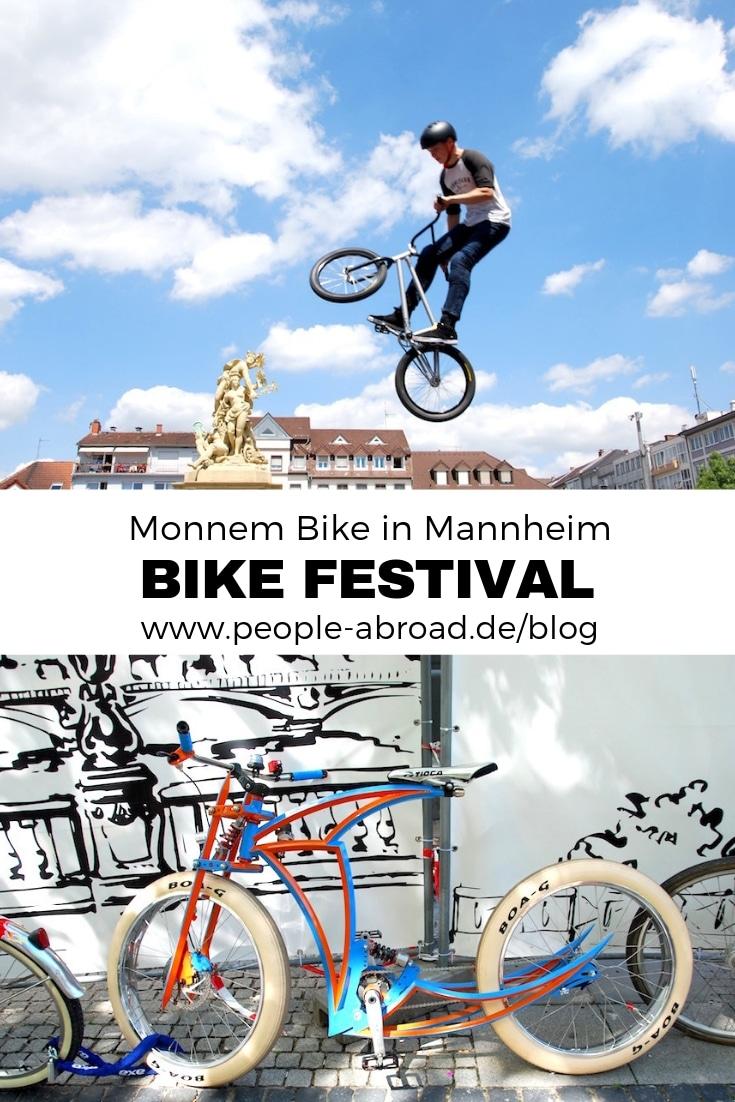Städtetrip: Bike-Festival in Mannheim #Reise Städtereise #Fahrrad #Sport #Mannheim