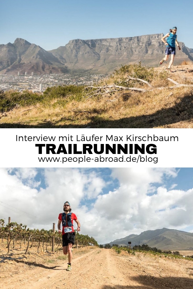 Faszination Trailrunning - Interview mit Max Kirschbaum #Running #Laufen #Trailrunning #Sport #Outdoor