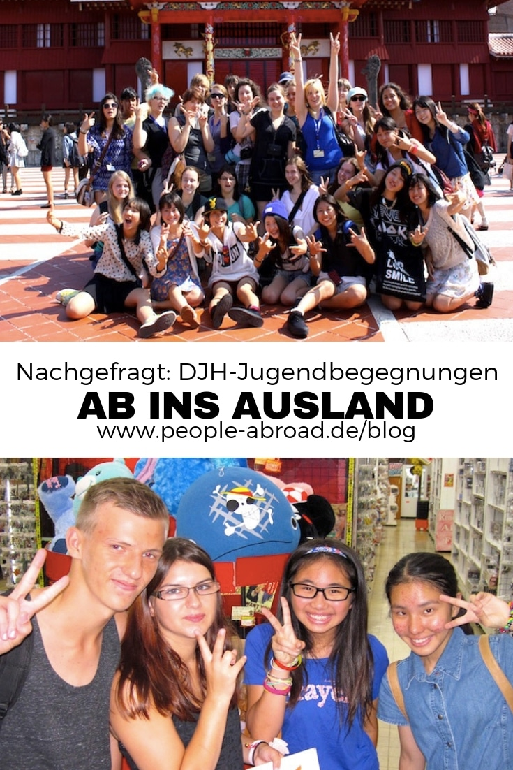 Ab ins Ausland - DJH-Jugendbegegnungen #Ausland #Auslandszeit #Jugendaustausch #Schüleraustausch #Auslandsprojekt