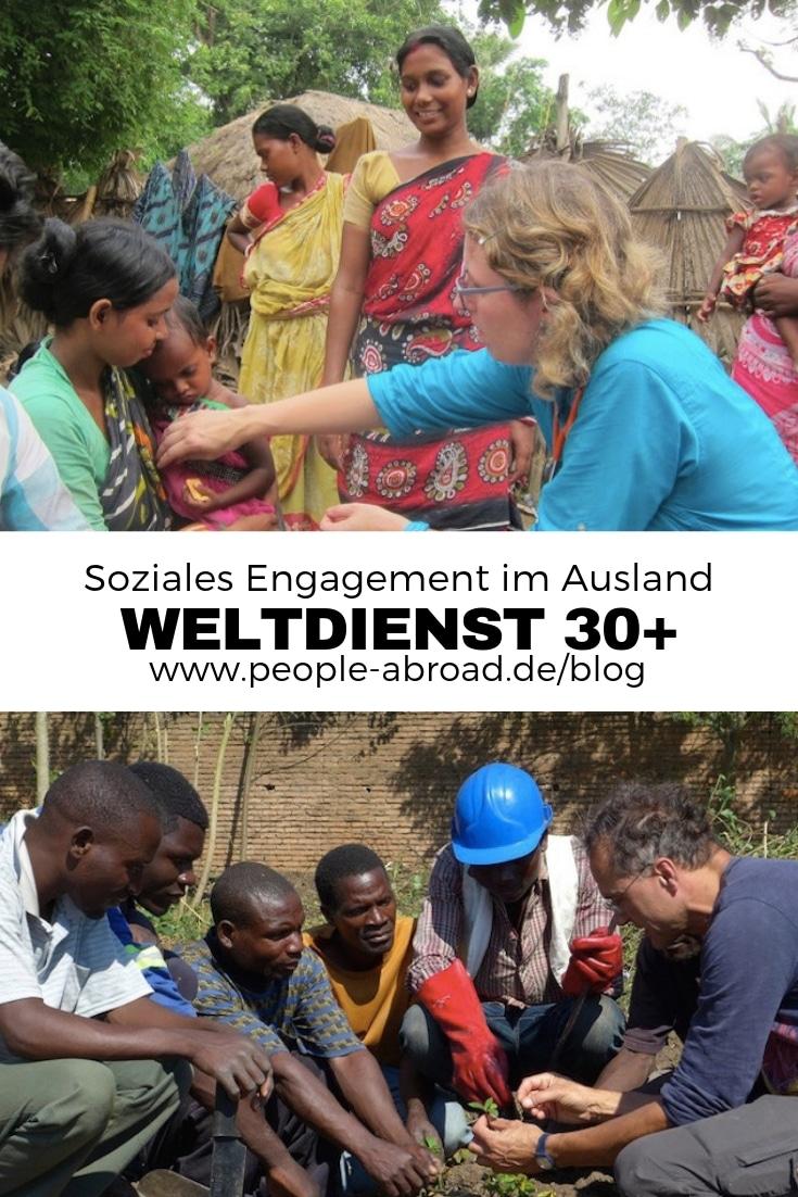 Mit dem Weltdienst 30+ ins Ausland #Ausland #Workandtravel #Jobben #Karriere #Auslandsprojekt