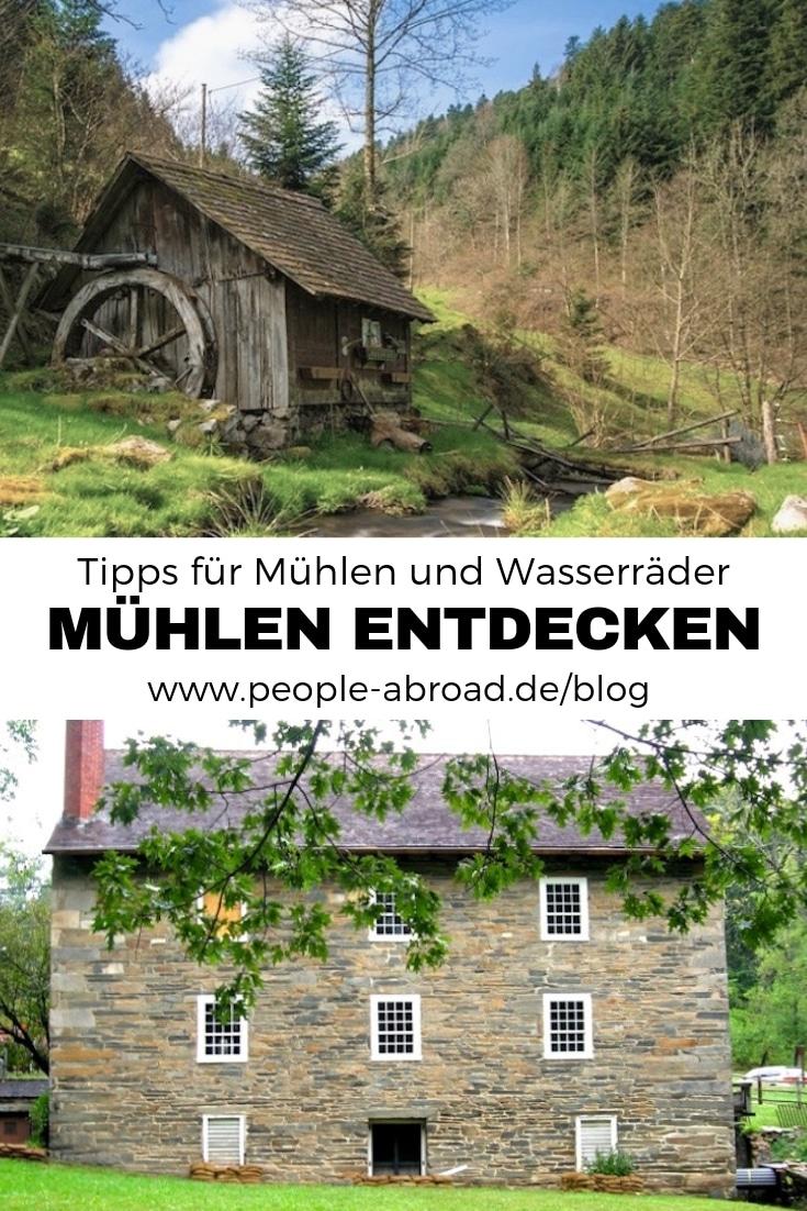 83 - Deutscher Mühlentag: Mühlen & Wasserräder