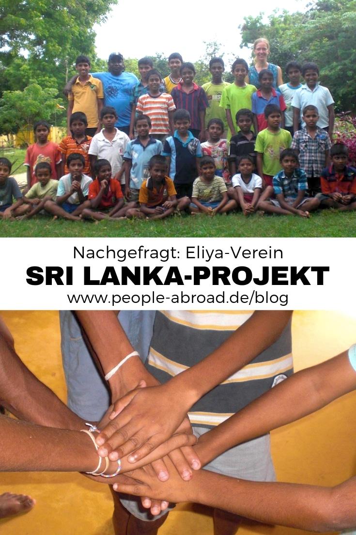 Nachgefragt: Sri Lanka-Projekt Eliya #Ausland #Workandtravel #Srilanka #Sozialarbeit #Hilfsprojekte