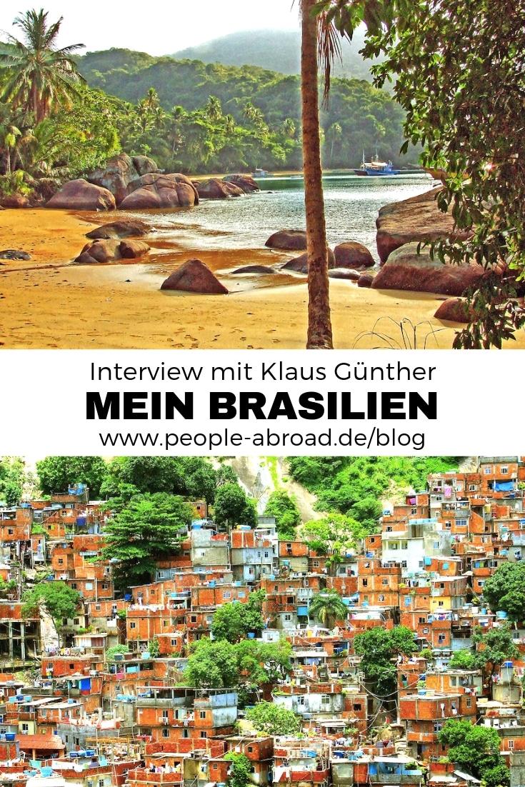 Mein Brasilien - Interview mit Klaus D. Günther #Reise #Brasilien #Kultur #Gesellschaft #Südamerika