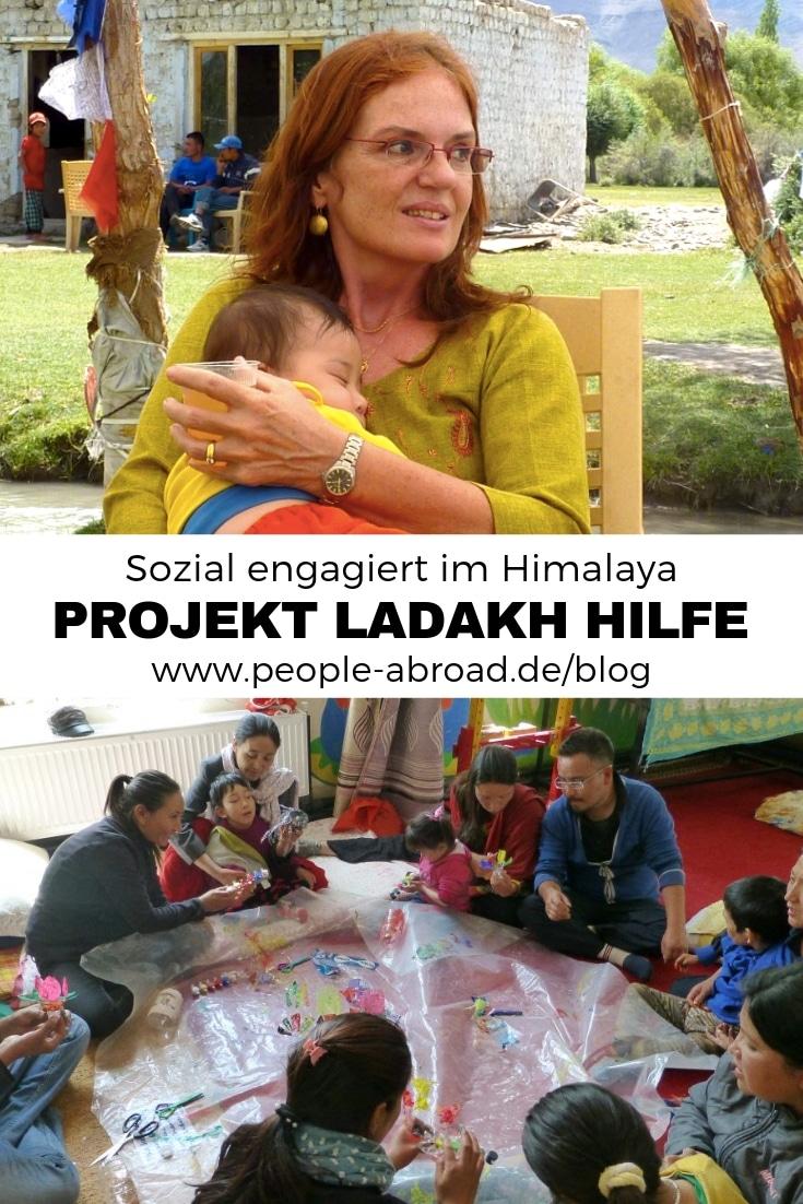 Himalaya Projekt Ladakh-Hilfe - Interview mit Karola Wood #Ausland #Praktikum #Workandtravel #Sozialarbeit #Hilfsprojekt