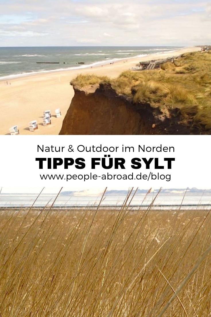Natur & Outdoor: Tipps für deinen Sylt-Urlaub #Reise #Deutschland #Insel #Reisetipps #Natur