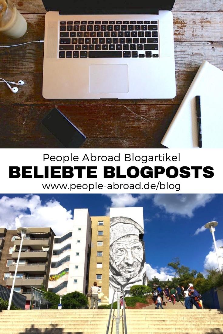 Die beliebtesten Blogposts des Jahres. #Reiseblogger #Reise #Reisetipps #Artikel #Blogger