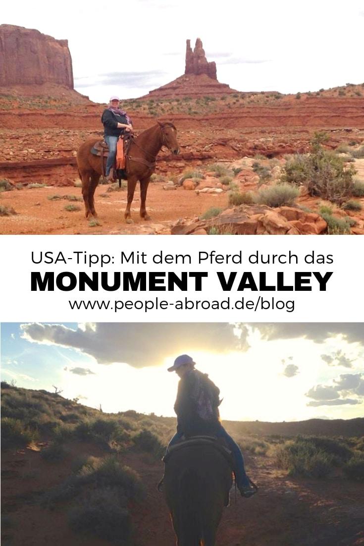 104 - Mit dem Pferd im Monument Valley reiten