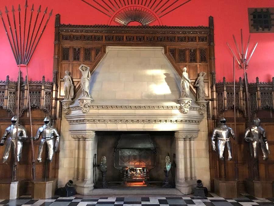Castle große Halle
