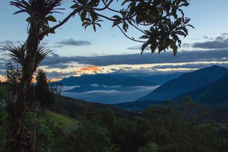 Yunguilla in Ecuador