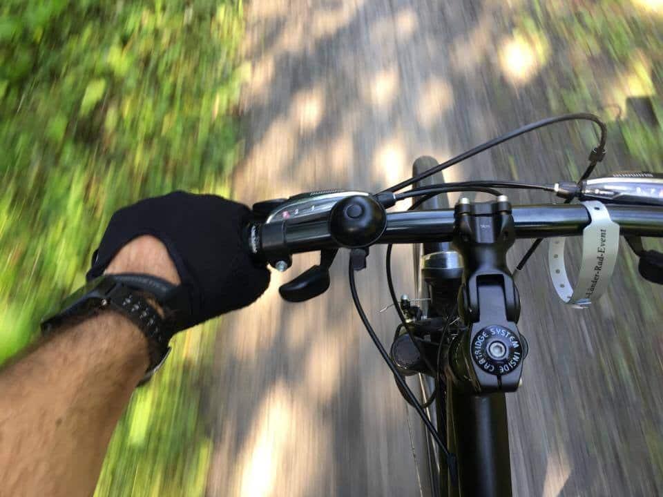 Nachhaltig leben Radfahren Mountainbiken Bike