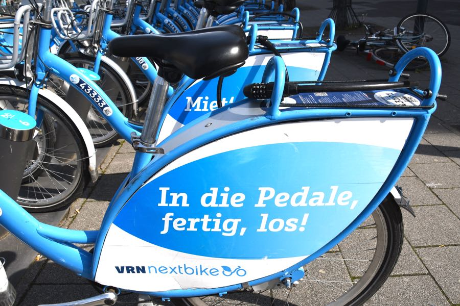 Nachhaltig leben Nextbike rent a bike Leihrad