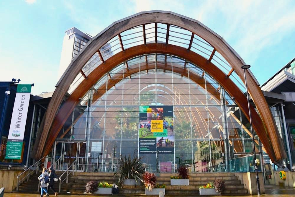 Sheffield Städtetrip: Sehenswürdigkeiten Tipps Reiseplanung Winter Garden