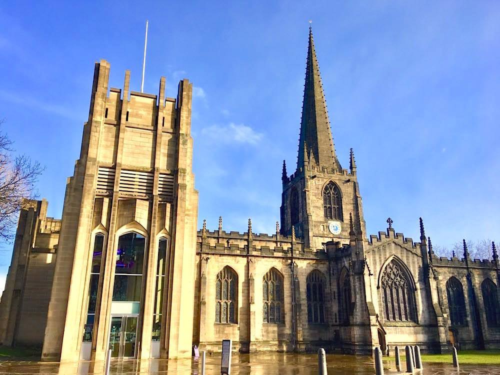 Sheffield Städtetrip: Sehenswürdigkeiten Tipps Reiseplanung Cathedral